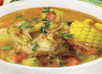 "Caribbean Sunshine ""Spicy Chicken"" Soup"