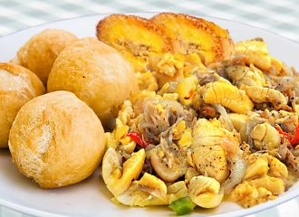 Ackee Salt Fish