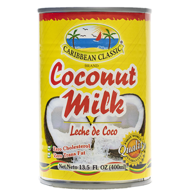 Caribbean Classic Brand Coconut Milk 13.5oz