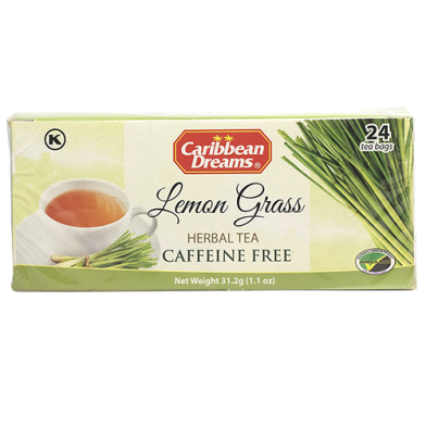 Caribbean Dreams Lemon Grass Tea (24 Bags)
