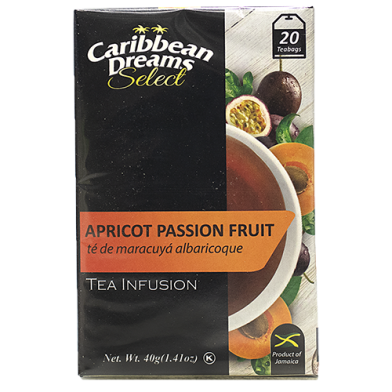 Caribbean Dreams SELECT Apricot Passion (20 Bags)