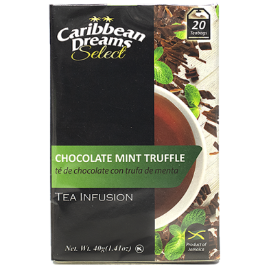 Caribbean Dreams SELECT Chocolate Mint Truffle (20 Bags)
