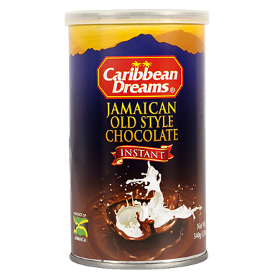 "Caribbean Dreams ""Old Style"" Instant Chocolate 12oz"