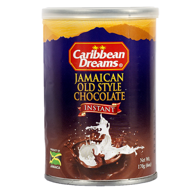 "Caribbean Dreams ""Old Style"" Instant Chocolate 6oz"