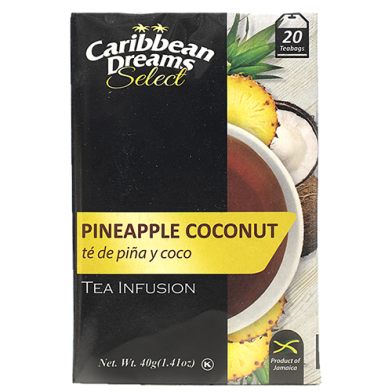 Caribbean Dreams SELECT Pineapple Coconut (20 Bags)