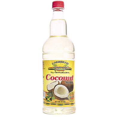 Caribbean Sunshine Coconut Syrup 34oz