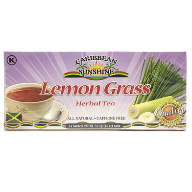 Caribbean Sunshine Lemon Grass Tea (24 Bags)