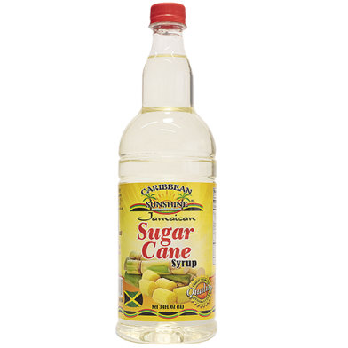 Caribbean Sunshine Sugar Cane Syrup 34oz