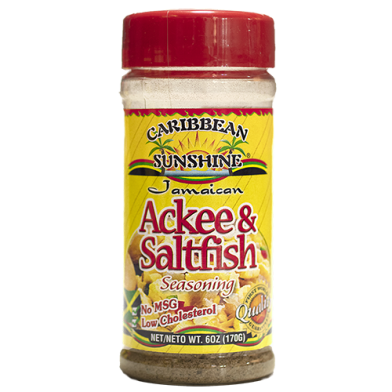 ribbean Sunshine Ackee & Saltfish Seasoning 6oz