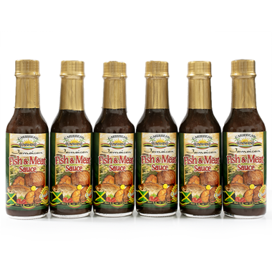 Caribbean Sunshine Fish and Meat Sauce 5oz - Value Pack (6)