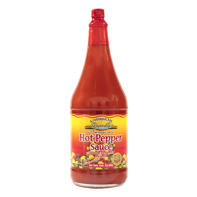 Caribbean Sunshine Hot Pepper Sauce 12oz