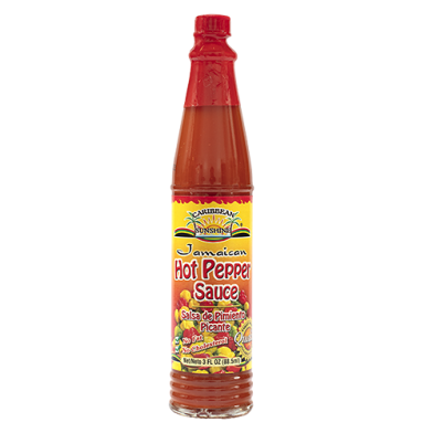 Caribbean Sunshine Hot Pepper Sauce 3oz