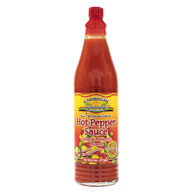 Caribbean Sunshine Hot Pepper Sauce 6oz
