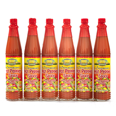Caribbean Sunshine Hot Pepper Sauce 3oz - Value Pack (6)