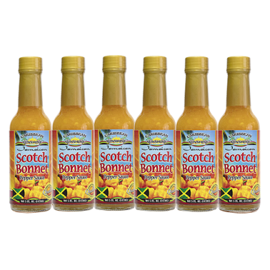 Caribbean Sunshine Scotch Bonnet Pepper Sauce 5oz - Value Pack