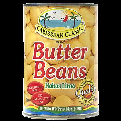 Caribbean Classic Butter Beans 14oz