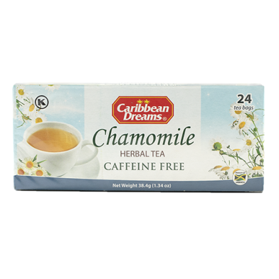 Caribbean Dreams Chamomile Tea (24 Bags)