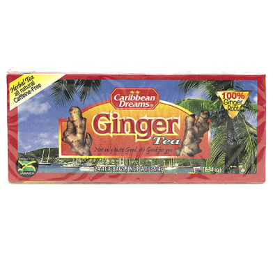 Caribbean Dreams Ginger Tea (24 Bags)