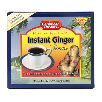 Caribbean Dreams Instant Ginger Unsweetened (14 Sachets)