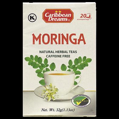 Caribbean Dreams Moringha Tea (20 Sachets)