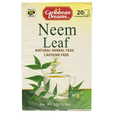 Caribbean Dreams Neem Leaf Tea (20 Sachets)
