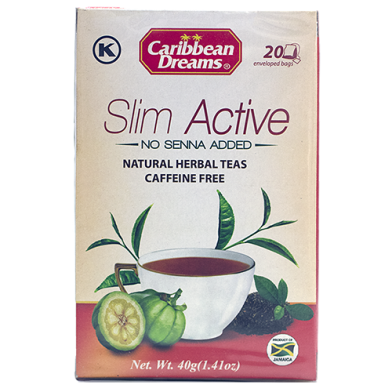 Caribbean Dreams Slim Active Tea (20 Sachets)