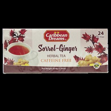 Caribbean Dreams Sorrel Ginger Tea (24 Bags)