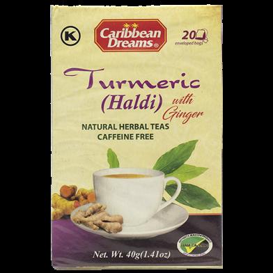 Caribbean Dreams Turmeric Tea (20 Sachets)
