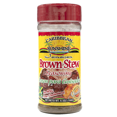 Caribbean Sunshine Brown Stew Seasoning 6.5oz