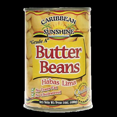 Caribbean Sunshine Butter Beans 14oz