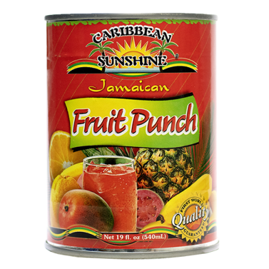 Caribbean Sunshine Fruit Punch 19oz