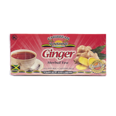 Caribbean Sunshine Ginger Tea (24 Bags)