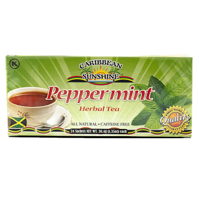 Caribbean Sunshine Peppermint Tea (24 Bags)