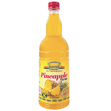 Caribbean Sunshine Pineapple Syrup 34oz