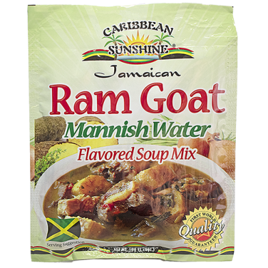 Caribbean Sunshine Ram Goat Soup Mix 1.76oz