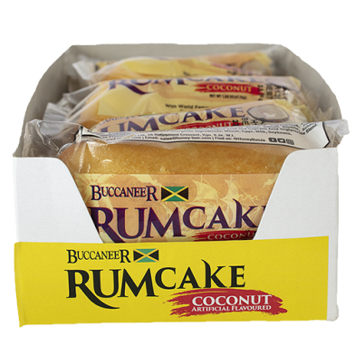 Buccaneer Rum Cake Coconut - Value Pack