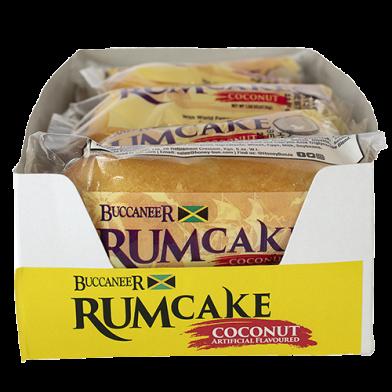 Buccaneer Rum Cake Coconut - Value Pack