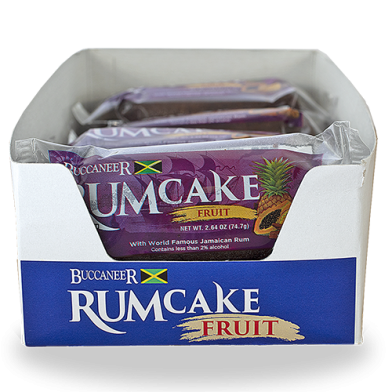 Buccaneer Rum Cake Fruit - Value Pack