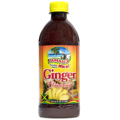 Jamaica Tastes Sooo Nice! Ginger Flavoring 16oz
