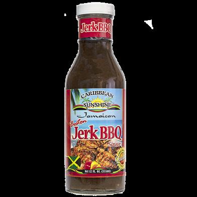 Caribbean Sunshine Jerk BBQ Sauce 12oz
