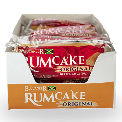 Buccaneer Original Pocket Rum Cake - Value Pack (10)