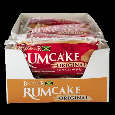 Buccaneer Original Pocket Rum Cake - Value Pack (10)