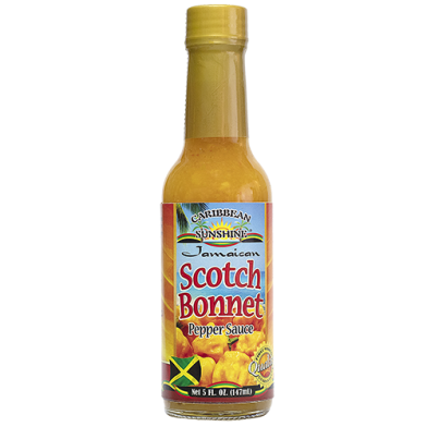 Caribbean Sunshine Scotch Bonnet Pepper Sauce 5oz