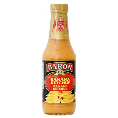 Baron West Indian Banana Ketchup 14oz