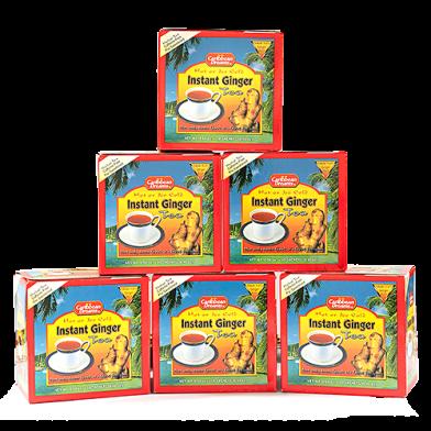 Caribbean Dreams Instant Ginger Tea Sweetened - Value Pack