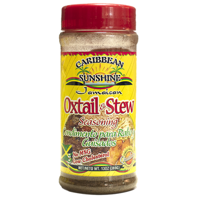 Caribbean Sunshine Oxtail & Stew Seasoning 13oz
