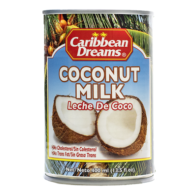 Caribbean Dreams Coconut Milk 15oz