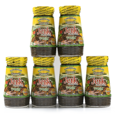 Caribbean Sunshine Boston Jerk Seasoning Mild - Value Pack