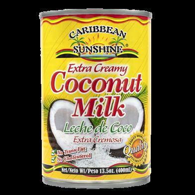 Caribbean Sunshine Coconut Milk Extra Creamy 13.5oz