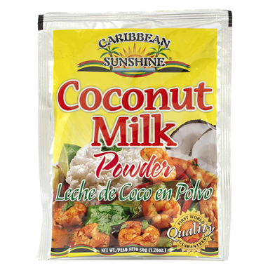 Caribbean Sunshine Coconut Milk Powder 1.76oz
